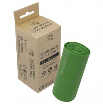 Compostable Kitchen Bags 9.5L - 25Bags/Roll