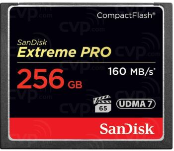 SanDisk SDCFXPS-256G-X46 - 256GB CF Compact Flash Extreme Pro S 160MB/s