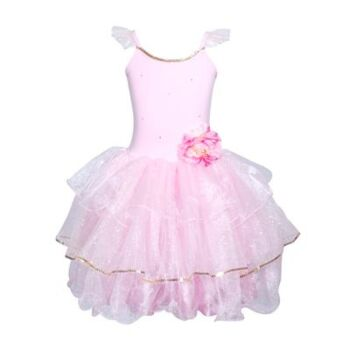 Peony Flower Fairy Dress Size 3/4-Ppink