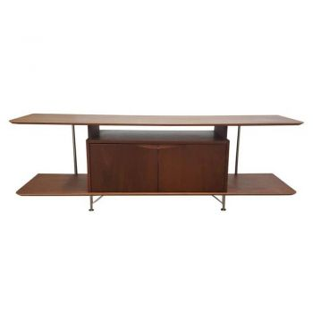6IXTY2 Scandinavian TV Stand Cabinet Entertainment Unit 160cm - Walnut