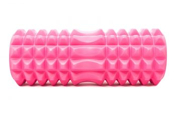 Mad Ally Textured Foam Roller Colour; Pink