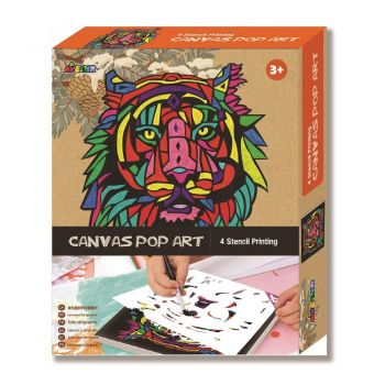 Avenir - Canvas Pop Art - Lion