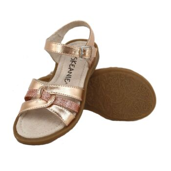 SKEANIE Girls LEXI Sandals in Rose Gold