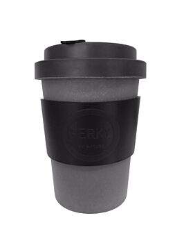 Perk Black Cup 12oz