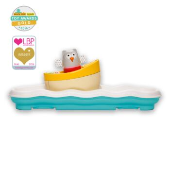 Musical Boat Owl Toy