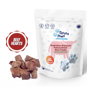 Freezy Paws Freeze Dried Beef Heart Raw
