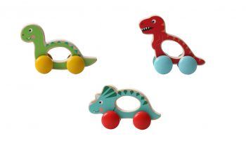Wheelie Dinosaurs 6pc/inner