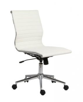 Van Mid-Back Office Conference Chair - White