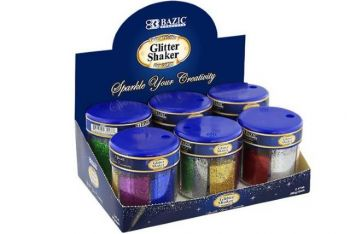 Glitter Fairy Dust Shaker 6 in 1 Primary Colours (60gm)