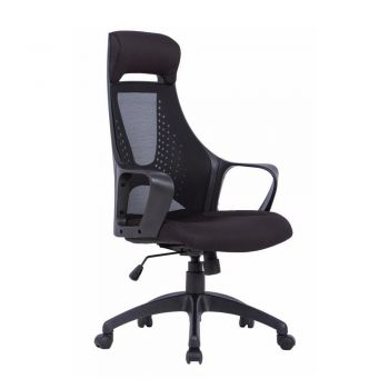 Buro Alma Ergonomic Mesh High Back Office Chair - Black