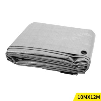3x3.6M Heavy Duty PE Poly Tarps Camping Cover 200gsm