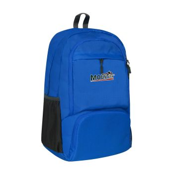 25L Waterproof FoldableTravel Backpack for Camping in Blue