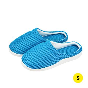 Summer Bamboo Cooling Gel Slippers Anti-fatigue Shoes Size S