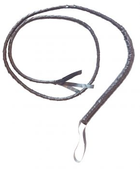 6 ft Whip - Brown (Indiana Jones Style)