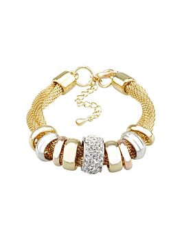 Barcs Australia Twisted Sister Women's Gold Plated Bracelet