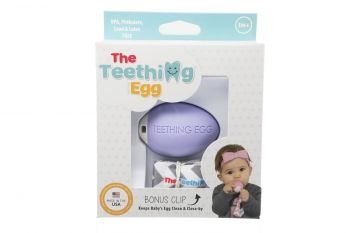 The The Teething Egg Lavender