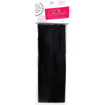 Headband- Black 7cm wide