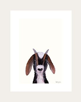 Gerry Goat Low Down Print