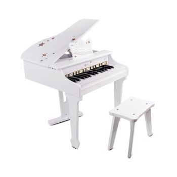 Classic World White Grand Piano