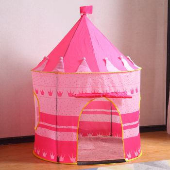 BoPeep Kids Children Pop Up Play Tent Prince Castle Kid Playhouse Party Gift