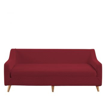 DreamZ Couch Stretch Sofa Cover Protector Slipcover 3 Seater in Wine