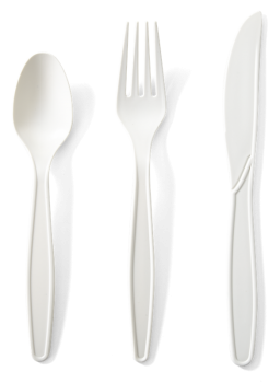 Cornstarch Cutlery Set (Natural) - 24pc