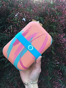 Perky Peach Lunch Box