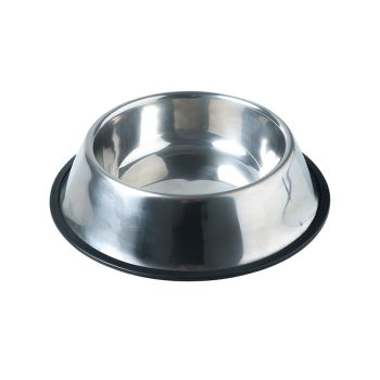 PaWz Pet Bowl Stainless Steel Non Tip Slip Puppy Water Food Dish