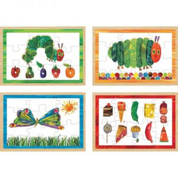 The Very Hungry Caterpillar™ 4 in 1 Wooden Puzzle