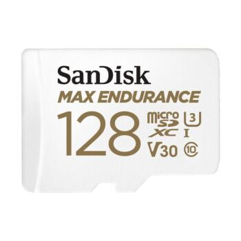 SanDisk Max Endurance 128GB SDSQQVR Micro SD SDHC 100MB/s Class 10 with Adapter