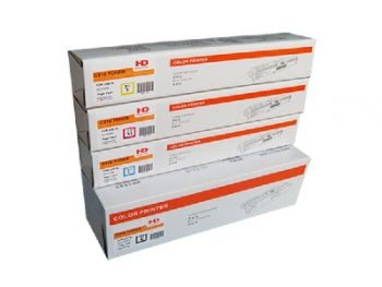 OKI C332DN/MC363DN Toner Cartridges Bundle Pack - One of Each Black Cyan Magenta and Yellow