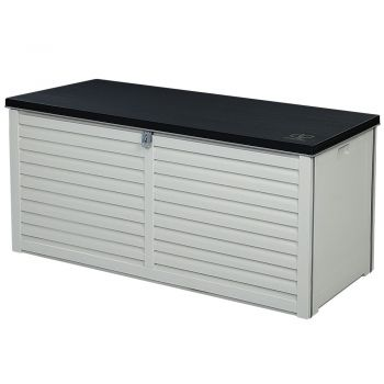 Outdoor Storage Box Bench Seat Indoor Toy Tool Sheds Chest Patio 490L Gardeon