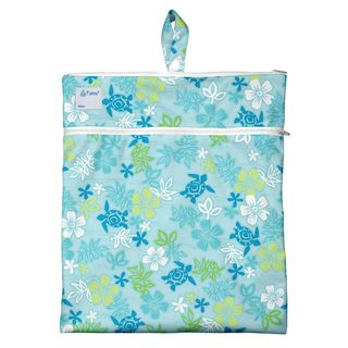 Wet & Dry Bag-Aqua Hawaiian Turtle