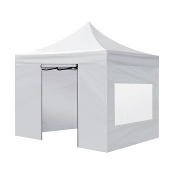 3 x 3 Mountview Gazebo Side Wall Canopy Mesh in Silver Colour