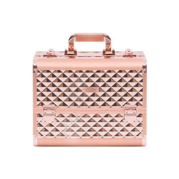 Justine Makeup Case Small Rose Gold