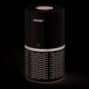 Arovec™ Smart Air Purifier, Air Quality Sensor and indicator 4-layer Filter Allergen Virus & other contaminant Large Room Sleep Mode Auto Mode AV-P152PRO