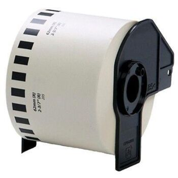 Compatible Rolls for Brother DK-22205 White Continuous Label for QL-570 700 PP500