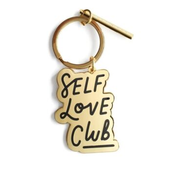 Self Love Club Enamel Keyring