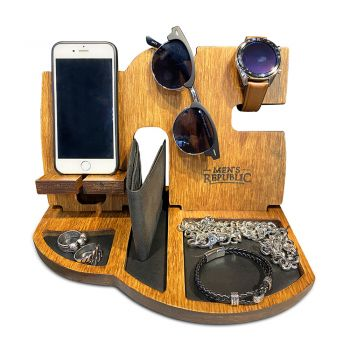 Men's Republic Docking Station and Nightstand