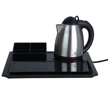 Dolphy Stainless Steel Electric Kettle with Tray