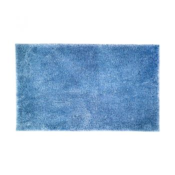 Microplush Large Bath Mat 50 x 80cm Cornflower