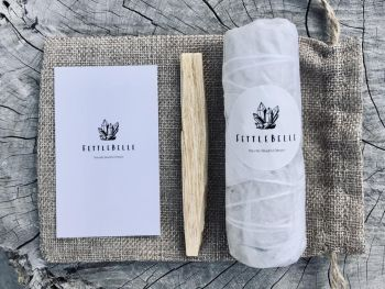 White Californian Sage Smudge Stick & Palo Santo Pack