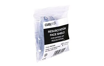 Disposable CPR Face Shield 10x Pack