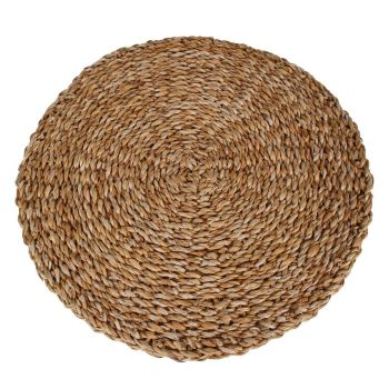 TORQUAY SEA GRASS PLACEMAT ROUND 40 X 1CM