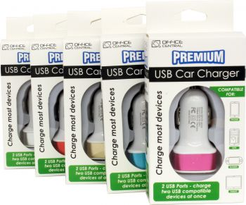 Charger Premium USB Car Fast IPads & Phones