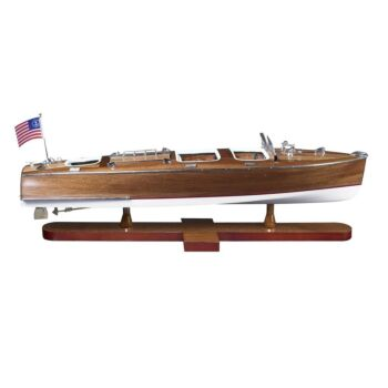 Nautical Triple Cockpit Speedboat Model