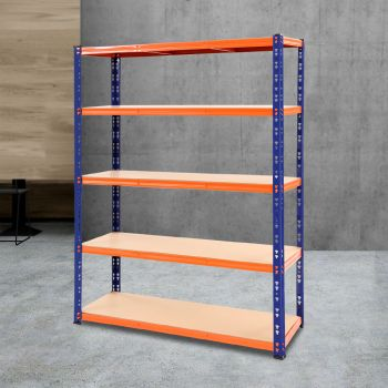 Giantz 1.2M Warehouse Racking Shelving Storage Shelf Garage Shelves Rack Steel