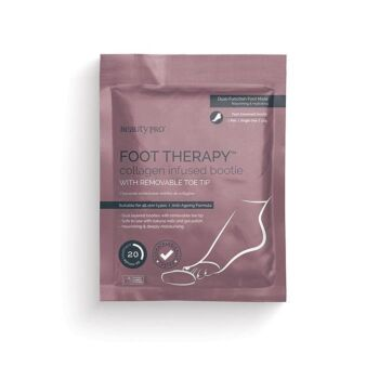 BeautyPro Foot Therapy Collagen Infused Bootie Foot Mask (1 x Single Use, 17g)