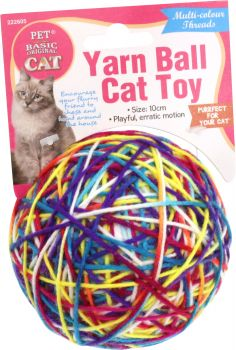 Cat Toy Yarn Ball - 10cm