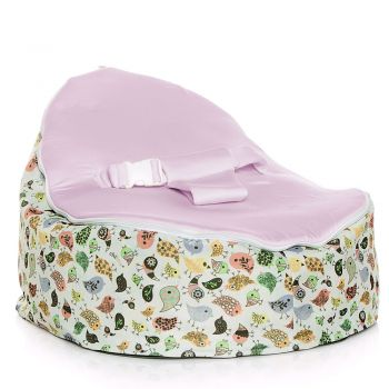 Chibebe Teeny Birds Baby Bean Bag - Grape